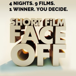 Short Film Face Off logo w-words